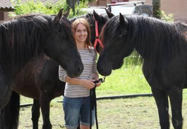 Andrea mit Xanjo, Race und Sucrée in der Schweiz