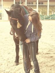 Andrea und Xtra Class an der Offa Pferdemesse 2015